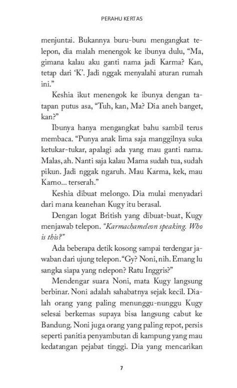 Novel Perahu Kertas By Books Shop perahu kertas book by dewi lestari gramedia digital