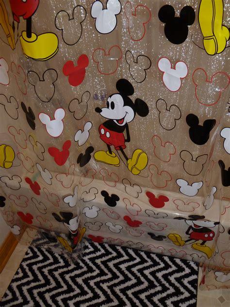 walmart mickey mouse bathroom mickey mouse shower curtain walmart black and white
