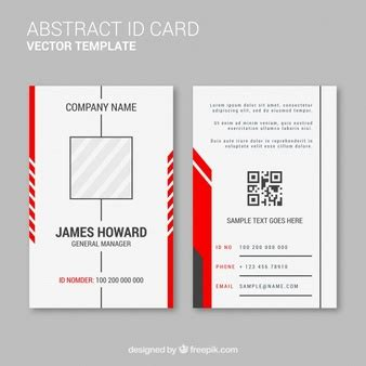 employee id card template ai business vectors 132 300 free files in ai eps format