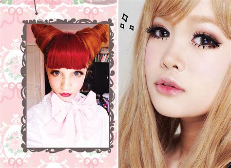 tutorial makeup kawaii japanese style make up and hair by stella lee marie