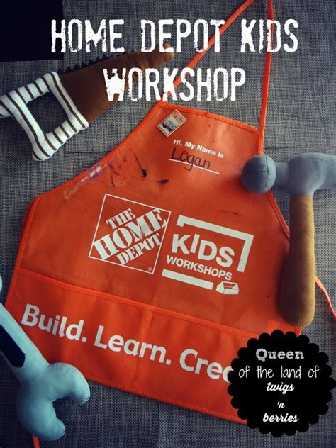 home depot workshop of the land of twigs n