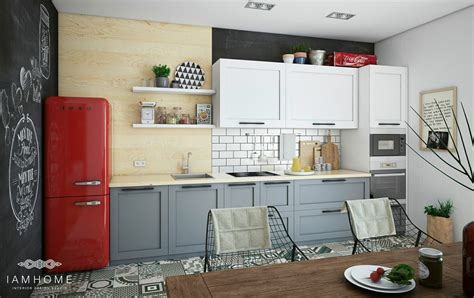 cozy kitchen stylish st petersburg apartment for an artistic