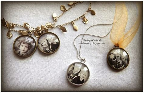 saving with diy photo pendant for 2 50