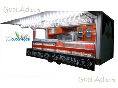 paninoteca mobile usata roulotte paninoteca friggitoria ambulante adibita vendita