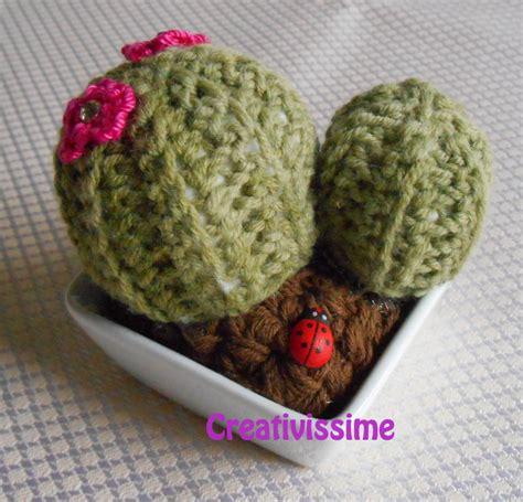 cuscino di suocera cactus cuscino della suocera all uncinetto con vaso