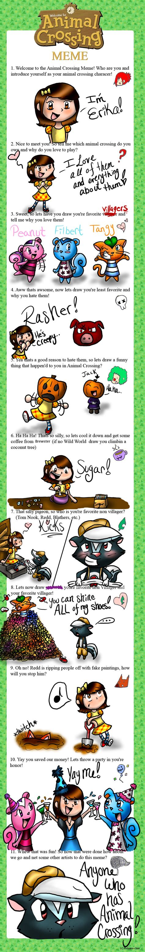 Animal Crossing Meme - tangy explore tangy on deviantart