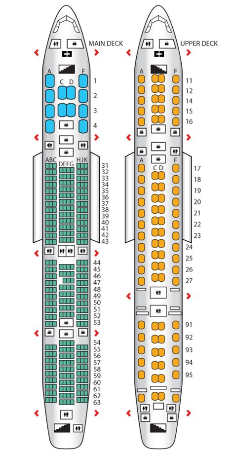 a380 800 config 2 singapore airlines seat maps