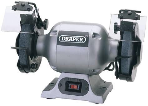 draper bench grinder draper 29620 ghd150 240v 150mm heavy duty bench grinder