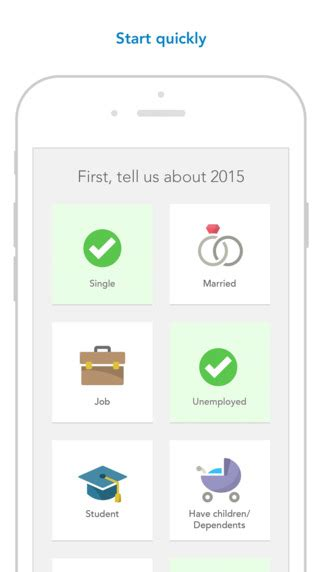 7 Best Tax Prep Apps For The Iphone by Turbotax Tax Preparation Complete And Efile Your 2015