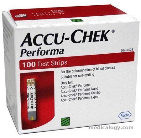 Jarum Cek Darah 28g Isi 100 accu check performa cek gula darah isi 100