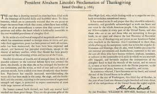 birthday thanksgiving speech abraham lincoln s 1863 thanksgiving proclamation jeff