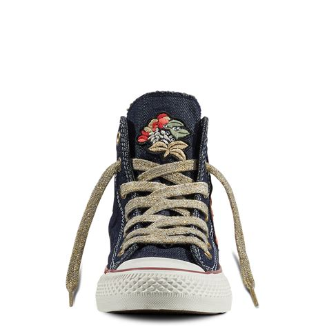 Converse Patchwork - chuck all flower patchwork denim converse gb