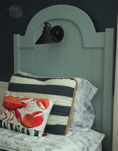 Diy Headboard And Footboard by Best 25 Nautical Headboard Ideas On Coastal