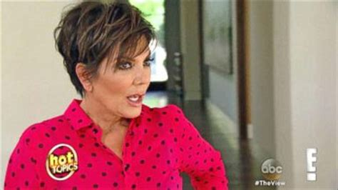 back view of kris jenner haircut ginger zee heads off on her maternity leave video abc news