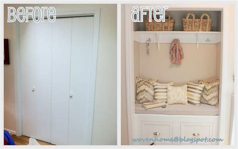 closet makeovers woven home entry closet makeover the reveal