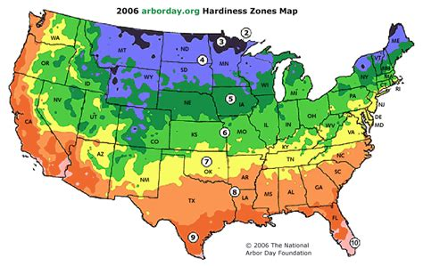 weather zones for gardening plants in nanopics planting zones
