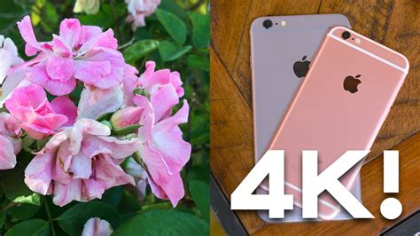 iphone 6s 4k test