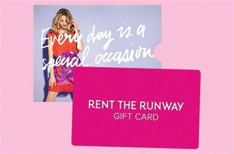 Rent The Runway Gift Card - 13 grad gifts on every college bound fashionista s wish list
