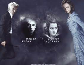 draco malfoy and hermione granger by akilajographic on