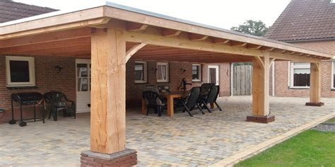 veranda zwart hout veranda aan huis met plat dak www superveranda nl