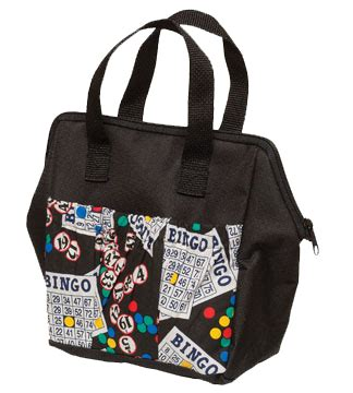pattern for vinyl tote bag allied bingo supplies 6 pocket bingo pattern vinyl tote