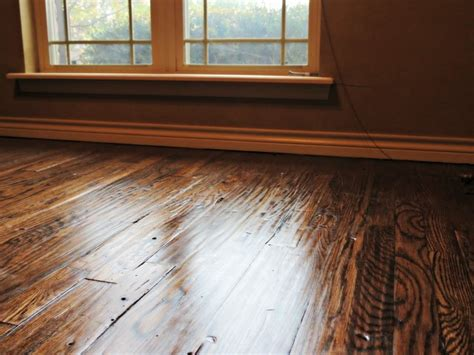 Distressed Rustic Wood Flooring - rustic distressed wood floor