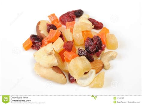 Mixed Dried Fruit mixed dried fruit and nuts royalty free stock photography image 17513157