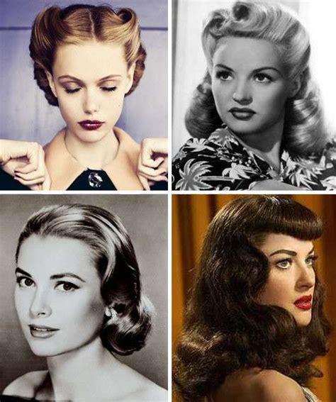 dive anni 50 le acconciature nella storia foto pourfemme
