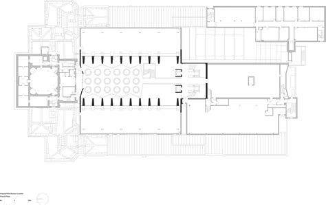 hearst tower floor plan gallery of imperial war museum foster partners 11