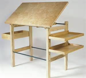 Drafting Table Plans Drafting Table Finewoodworking