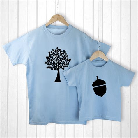 Matching Country Shirts And Gifts Oak Tree And Acorn