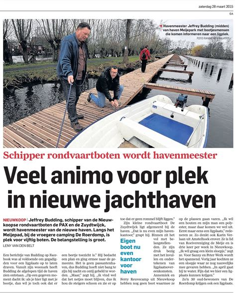 boot kopen nieuwkoop 28 3 2015 jachthaven meijepark sbn samen beter nieuwkoop