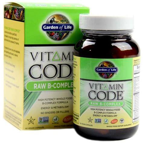 Garden Of Vitamin B Complex Buy Garden Of Vitamin Code B Complex 60