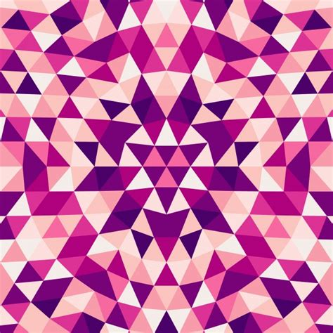 triangle color pattern vector round abstract geometrical triangle kaleidoscope mandala