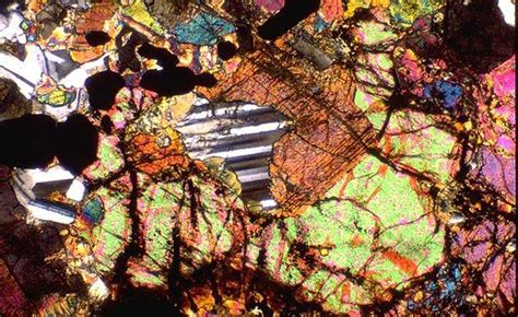 Pyroxene Thin Section by 1000 Images About Between A Rock On Granite Countertops Colors Tiger Skin And