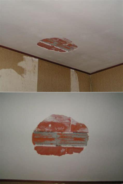 Reboucher Trou Plafond Platre by Trou Au Plafond Forum Isolation Cloisons Plafonds