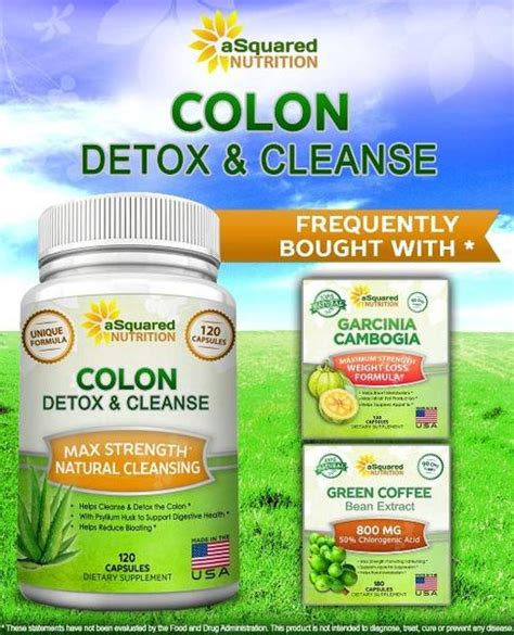 Nutri V Detox Colon Cleanse by Colon Cleanse Asquared Nutrition