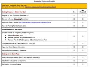 onboarding plan template onboarding checklist template rubybursa