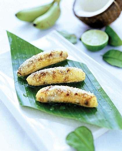 cucinare banane ricetta banane al cocco dessert style 24