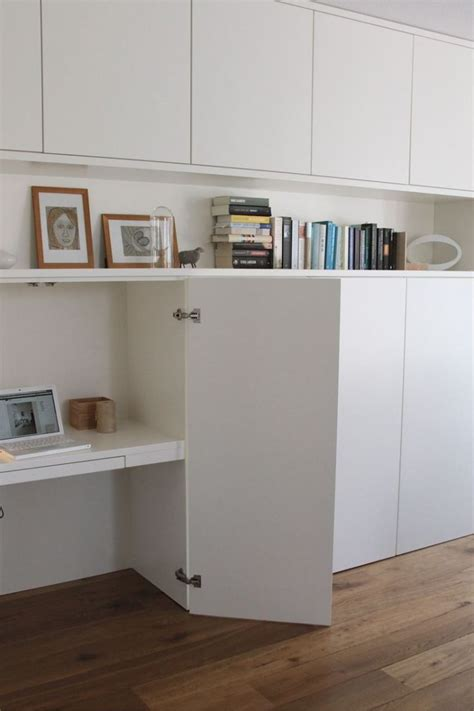 Un Bureau Discret Et Beaucoup De Rangement Ikea Metod Un Bureau