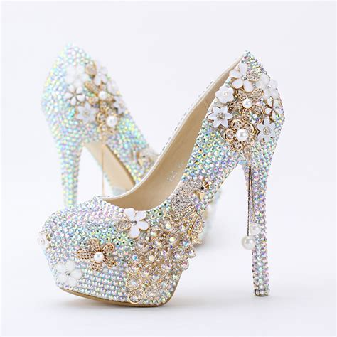 New Arrival New Luxury High Heel Gucci Shoes 003 395 ab rhinestone heels promotion shop for promotional ab