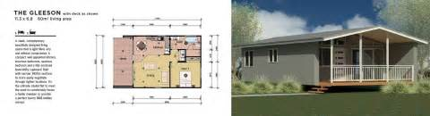 1 bedroom homes granny flat residential plans factory built manufactured