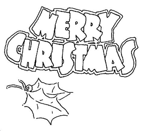 Coloring Pages Merry Christmas Merry Colouring Pages Printable