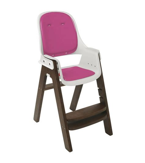 Pink High Chairs by Oxo Tot Sprout High Chair Pink Walnut