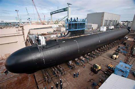 Maine Coast Kitchen Design Virginia Class Submarine Block Iv Award Becomes Largest U