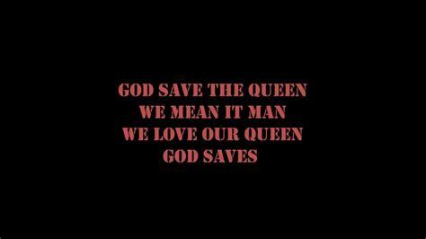 full version god save queen lyrics sex pistols god save the queen lyrics youtube