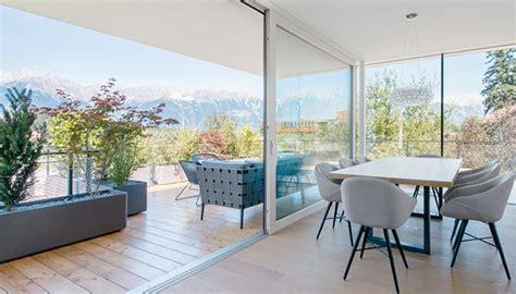 Wohnzimmer 3m Breit by Superfici Vetrate Di Grandi Dimensioni Internorm It