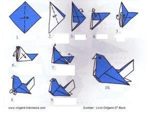 tutorial origami burung kertas tutorial origami handmade how to make origami with