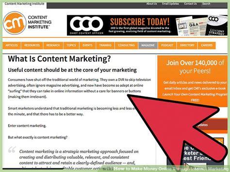 Make Money Online Through Ads - 4 ways to make money online through internet marketing wikihow