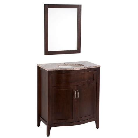 home decorators vanities home decorators collection prado 30 in vanity with stone